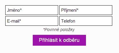 Webové formuláře